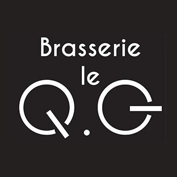 brasserie le QG carte avec qr code