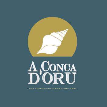 a conca d'oru logo restaurant pour smartphone qr code