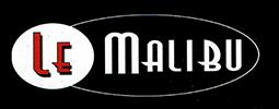 menu glacier le malibu avec qr code