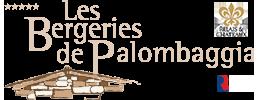 logo bergeries de palombaggia menu avec qr code