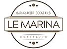 Restaurant menu QR code Le Marina